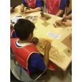 Creating Saxon pots