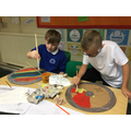 The children made Saxon shields for the wow day
