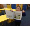 We read a Percy The Park Keeper book to find out what a park keeper does