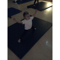 We really enjoy taking part in yoga