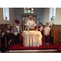 We had a Christening at the Church