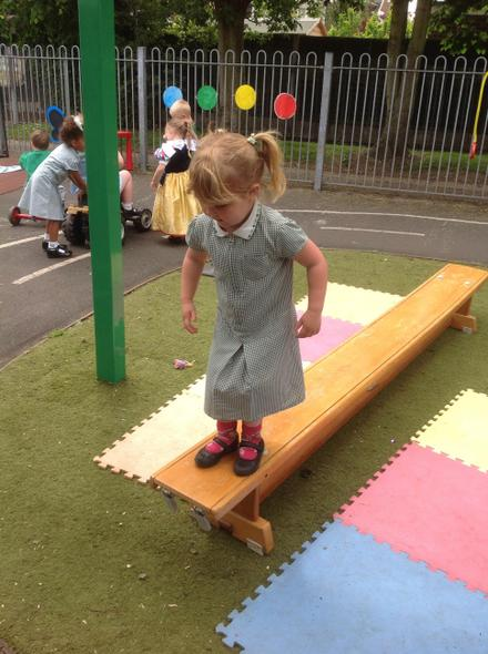 Jumping off the plank!