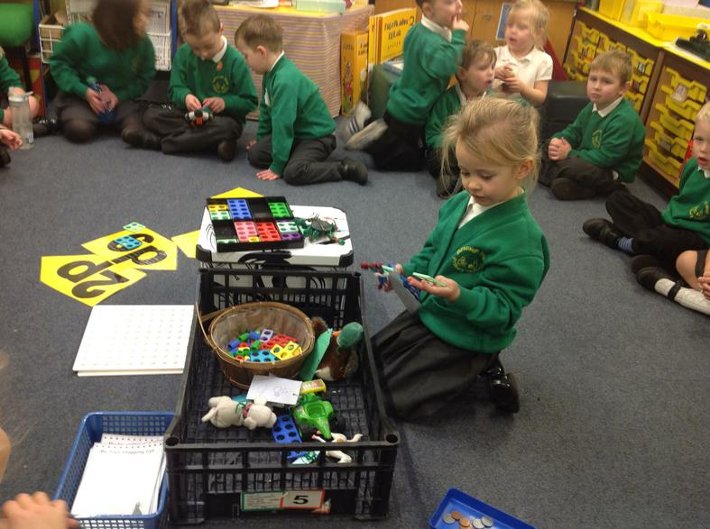 matching Numicon and numbers