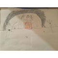 Year 6 Illustration of the opening scene from Macbeth