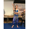 2nd Place: Eva and her Bollywood Dancing