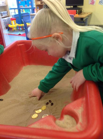 Using gold coins to buy magic beans