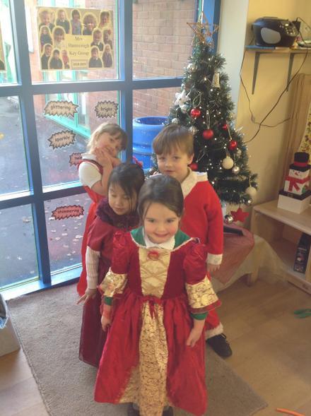 Christmas dressing up