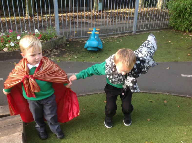Imaginative active play