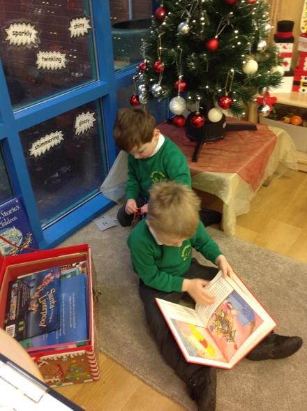 Enjoying Christmas books