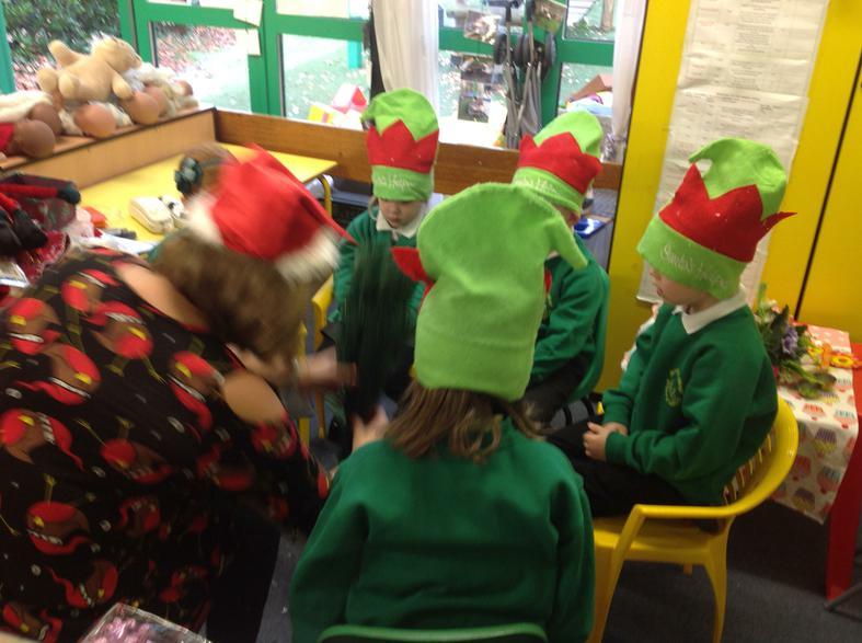 Setting up Santa's workshop