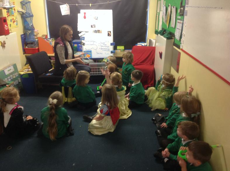 Listening to stories with attention and recall