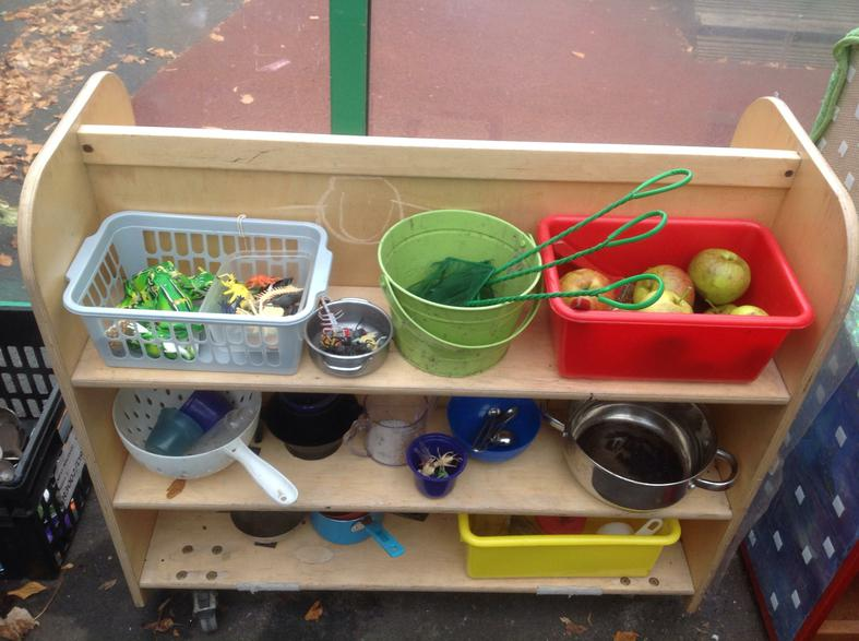 Water play materials