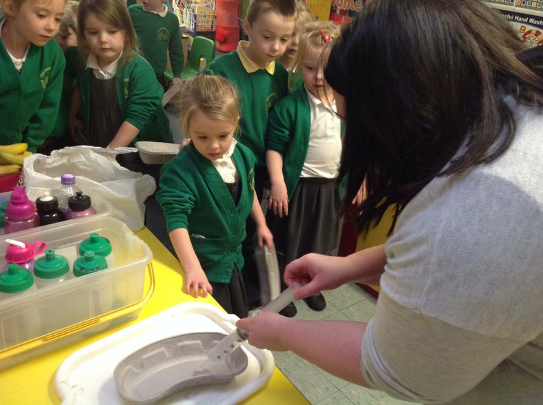 Emily's mummy is a Matron in a hospital.