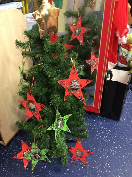 We have made Christmas stars