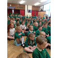 Whole School Buddhist monk meditation assembly
