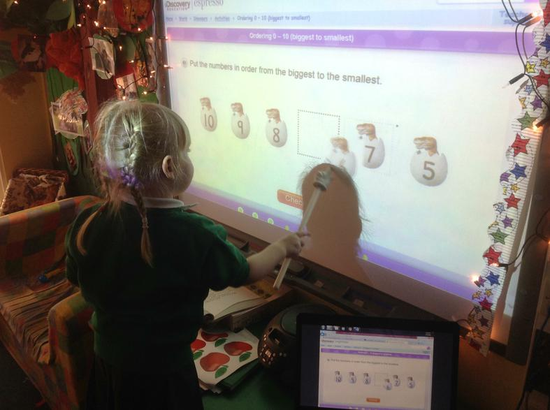 number recognition and sequencing