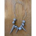 Finn's Stone Age Jewellery - Year 3