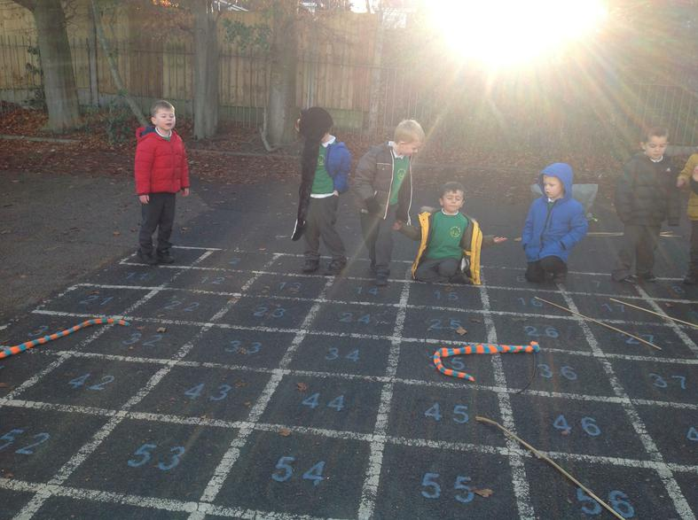 Making our own Snakes and Ladders game