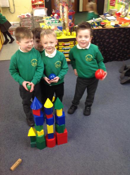 We explored 'solid' 3D shapes