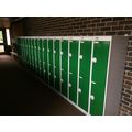 This year you have lockers instead of pegs to keep your belongings - how exciting!