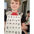 Jonas has been practising his handwriting.jpg