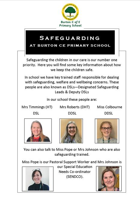 Key Safeguarding Staff