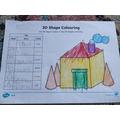 Zach's 3D Shape house