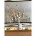 Lachlan's fantastic Easter tree - all homemade!.jpeg