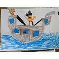 Rudy's pirate ship