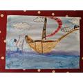 Jessica's pirate ship