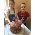 William's VE Day cake!.jpeg