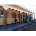 The finished classroom at Kumi Bazaar School.