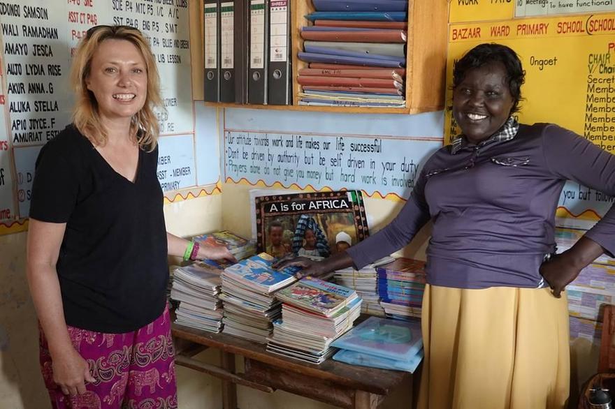 Reading books from Burton to Kumi