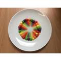 Skittle rainbows