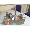 Chloe G's pirate ship