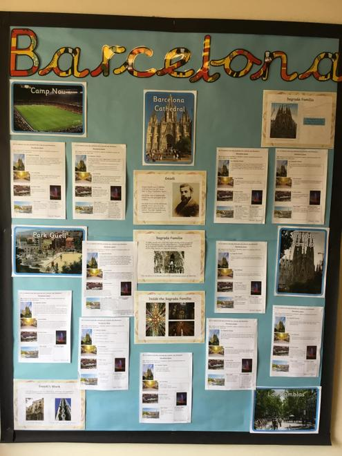 Barcelona by Years 5/6