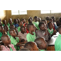 206 children in one class but hungry to learn.
