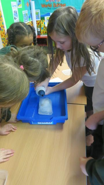 Salt was the second fastest but we had to dissolve it in warm water first.