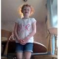 Maisie teaching us a Spanish song!