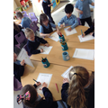 Creating posters about how to be kind.
