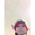 We had to take an 'Elfie Selfie'.