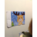 Pin the nose on Rudolph