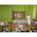 We had visitors to teach us about Diwali.