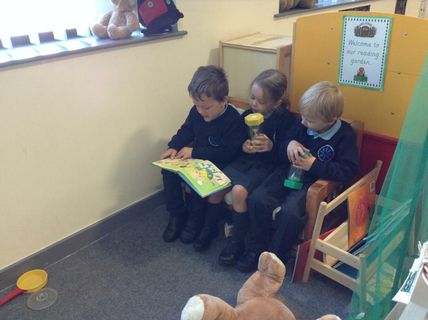 Friends sharing stories together.