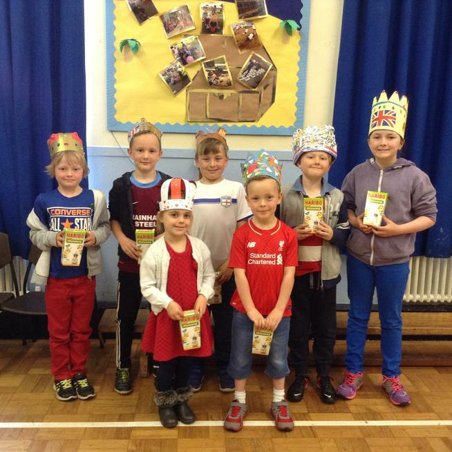 Our 'Make a Crown' competition winners!
