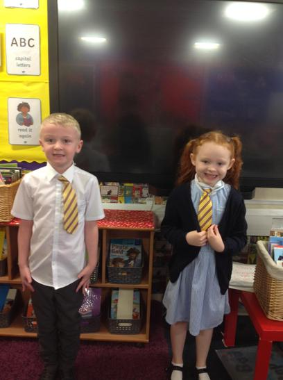 Our first Golden Tie winners.