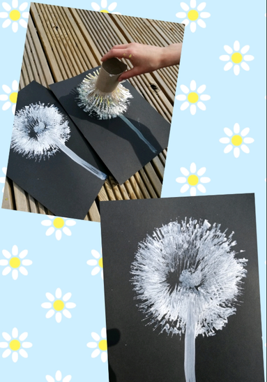 Great creative activity linked to our plants topic
