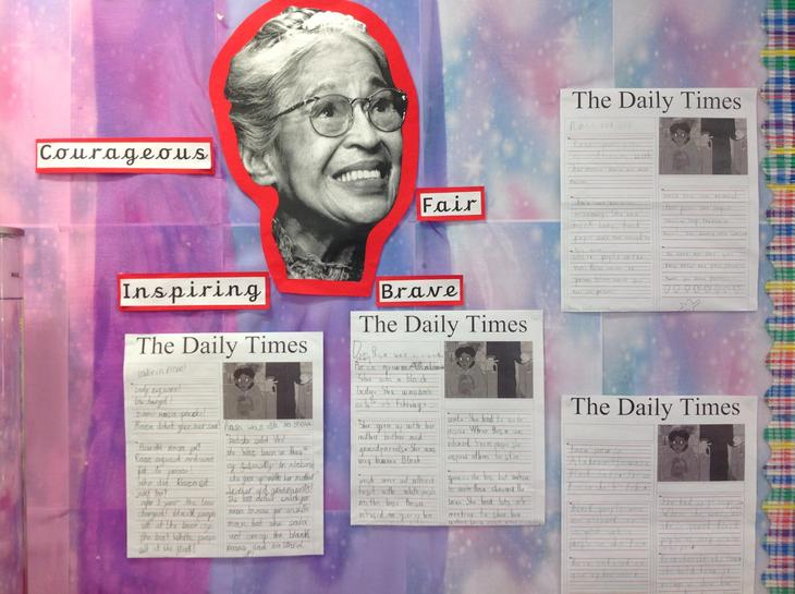 Rosa Parks news reports.