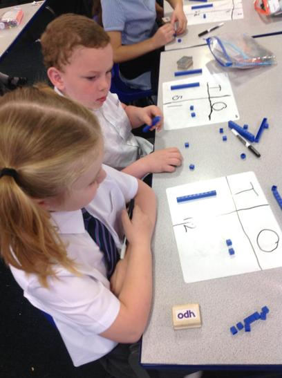 Partitioning numbers practice.