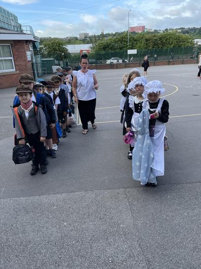All ready for a Victorian experience